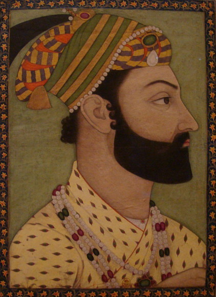 File:Portrait miniature of Ahmad Shah Durrani.jpg